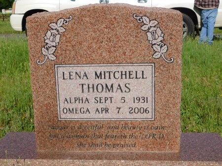 THOMAS, LENA - Webster County, Louisiana   LENA THOMAS - Louisiana Gravestone Photos