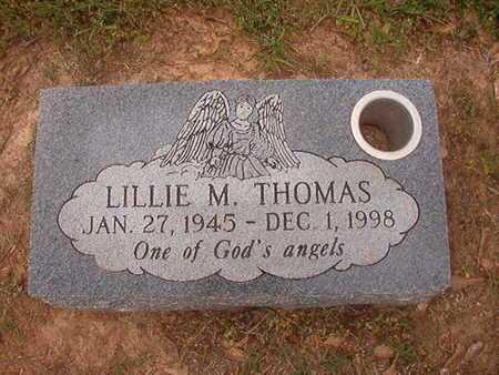 THOMAS, LILLIE M - Webster County, Louisiana   LILLIE M THOMAS - Louisiana Gravestone Photos