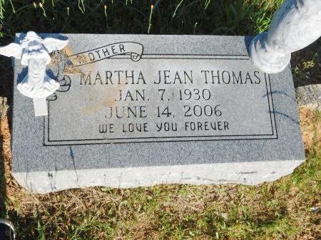 THOMAS, MARTHA JEAN - Webster County, Louisiana   MARTHA JEAN THOMAS - Louisiana Gravestone Photos