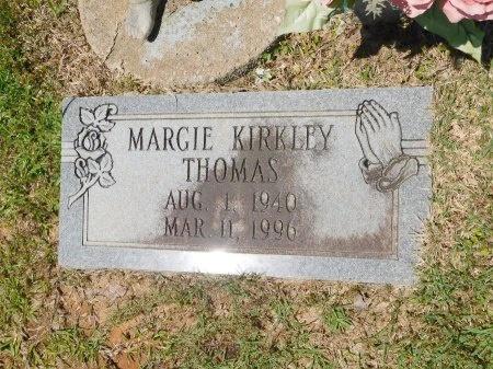 THOMAS, MARGIE - Webster County, Louisiana | MARGIE THOMAS - Louisiana Gravestone Photos