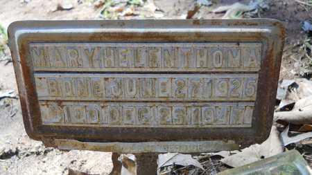 THOMAS, MARY HELEN - Webster County, Louisiana | MARY HELEN THOMAS - Louisiana Gravestone Photos