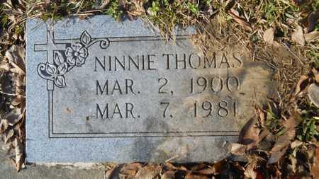 THOMAS, NINNIE - Webster County, Louisiana   NINNIE THOMAS - Louisiana Gravestone Photos