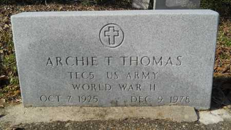 THOMAS, ARCHIE T (VETERAN WWII) - Webster County, Louisiana | ARCHIE T (VETERAN WWII) THOMAS - Louisiana Gravestone Photos