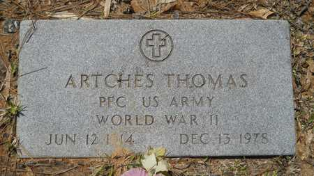 THOMAS, ARTCHES (VETERAN WWII) - Webster County, Louisiana   ARTCHES (VETERAN WWII) THOMAS - Louisiana Gravestone Photos