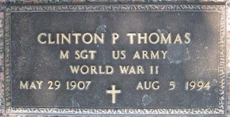 THOMAS, CLINTON P (VETERAN WWII) - Webster County, Louisiana   CLINTON P (VETERAN WWII) THOMAS - Louisiana Gravestone Photos
