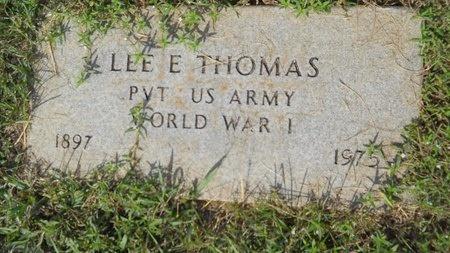 THOMAS, LEE EVERRETT (VETERAN WWI) - Webster County, Louisiana | LEE EVERRETT (VETERAN WWI) THOMAS - Louisiana Gravestone Photos