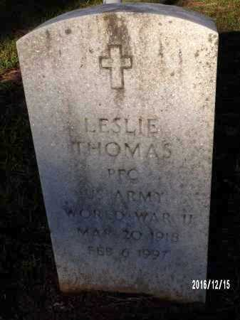 THOMAS , LESLIE (VETERAN WWII) - Webster County, Louisiana   LESLIE (VETERAN WWII) THOMAS  - Louisiana Gravestone Photos
