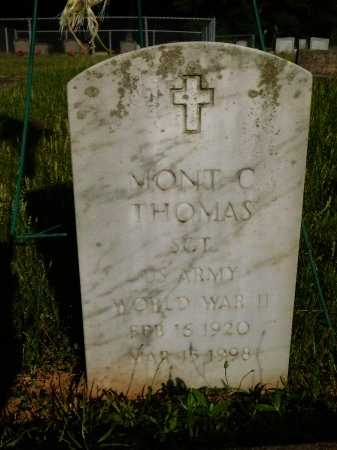 THOMAS, MONT C (VETERAN WWII) - Webster County, Louisiana | MONT C (VETERAN WWII) THOMAS - Louisiana Gravestone Photos