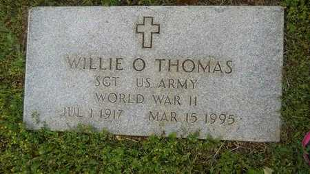 THOMAS, WILLIE O (VETERAN WWII) - Webster County, Louisiana | WILLIE O (VETERAN WWII) THOMAS - Louisiana Gravestone Photos