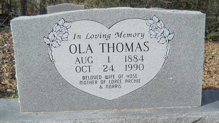 THOMAS, OLA - Webster County, Louisiana | OLA THOMAS - Louisiana Gravestone Photos