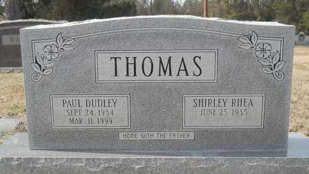 THOMAS, PAUL DUDLEY - Webster County, Louisiana | PAUL DUDLEY THOMAS - Louisiana Gravestone Photos