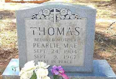 THOMAS, PEARLIE MAE - Webster County, Louisiana   PEARLIE MAE THOMAS - Louisiana Gravestone Photos