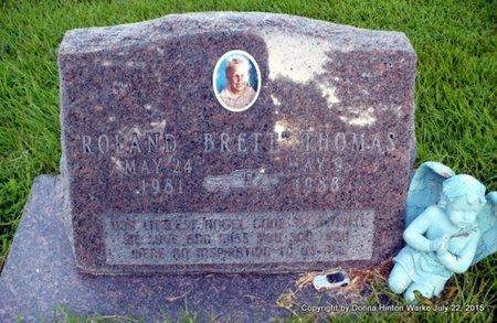 THOMAS, ROLAND BRETT - Webster County, Louisiana   ROLAND BRETT THOMAS - Louisiana Gravestone Photos