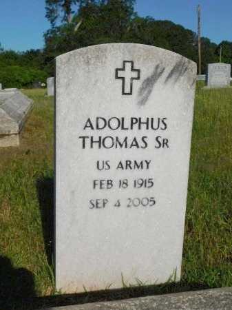 THOMAS, ADOLPHUS, SR   (VETERAN) - Webster County, Louisiana | ADOLPHUS, SR   (VETERAN) THOMAS - Louisiana Gravestone Photos