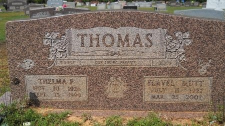 PEPPER THOMAS, THELMA LOUISE - Webster County, Louisiana   THELMA LOUISE PEPPER THOMAS - Louisiana Gravestone Photos