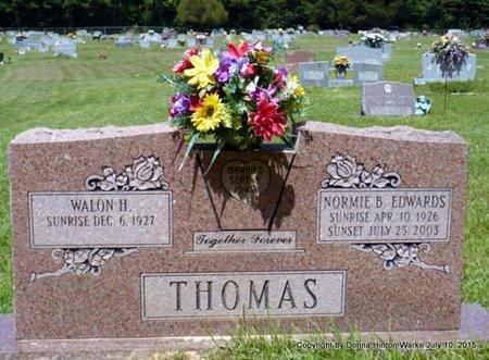 THOMAS, WALON H - Webster County, Louisiana | WALON H THOMAS - Louisiana Gravestone Photos