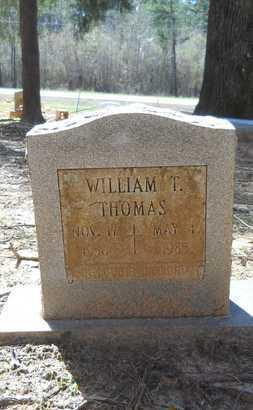 THOMAS, WILLIAM T - Webster County, Louisiana   WILLIAM T THOMAS - Louisiana Gravestone Photos