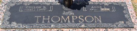 THOMPSON, CULLON R - Webster County, Louisiana | CULLON R THOMPSON - Louisiana Gravestone Photos