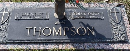 THOMPSON, NELLA M - Webster County, Louisiana | NELLA M THOMPSON - Louisiana Gravestone Photos