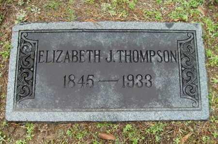 THOMPSON, ELIZABETH J - Webster County, Louisiana   ELIZABETH J THOMPSON - Louisiana Gravestone Photos