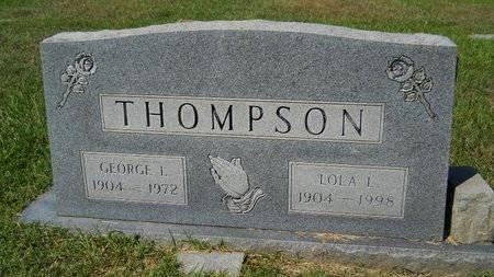 THOMPSON, LOLA - Webster County, Louisiana | LOLA THOMPSON - Louisiana Gravestone Photos