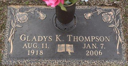 THOMPSON, GLADYS - Webster County, Louisiana   GLADYS THOMPSON - Louisiana Gravestone Photos