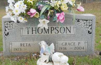 THOMPSON, GRACE - Webster County, Louisiana   GRACE THOMPSON - Louisiana Gravestone Photos