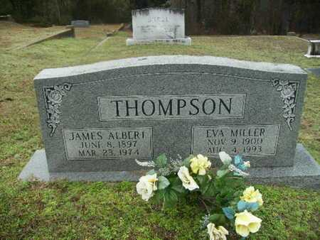 THOMPSON, JAMES ALBERT - Webster County, Louisiana | JAMES ALBERT THOMPSON - Louisiana Gravestone Photos