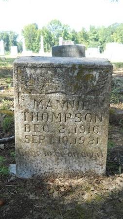 THOMPSON, MANNIE - Webster County, Louisiana   MANNIE THOMPSON - Louisiana Gravestone Photos