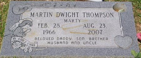"""THOMPSON, MARTIN DWIGHT """"MARTY"""" - Webster County, Louisiana 