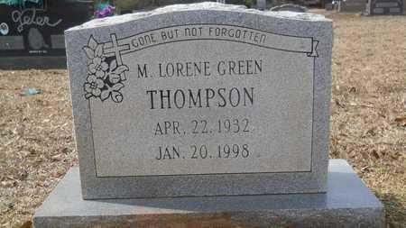 THOMPSON, M LORENE - Webster County, Louisiana | M LORENE THOMPSON - Louisiana Gravestone Photos