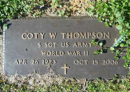 THOMPSON, COTY W (VETERAN WWII) - Webster County, Louisiana | COTY W (VETERAN WWII) THOMPSON - Louisiana Gravestone Photos