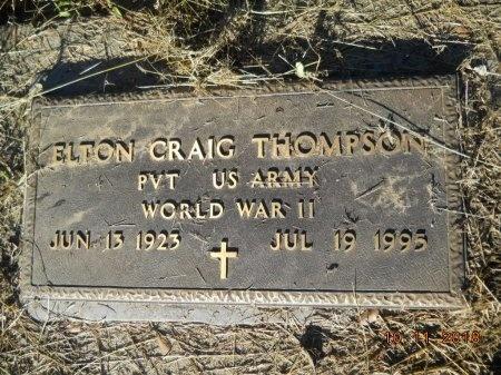 THOMPSON , ELTON CRAIG  (VETERAN WWII) - Webster County, Louisiana | ELTON CRAIG  (VETERAN WWII) THOMPSON  - Louisiana Gravestone Photos