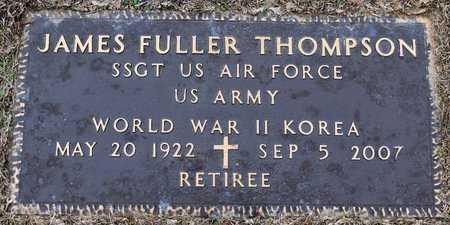THOMPSON , JAMES FULLER (VETERAN 2 WARS) - Webster County, Louisiana   JAMES FULLER (VETERAN 2 WARS) THOMPSON  - Louisiana Gravestone Photos
