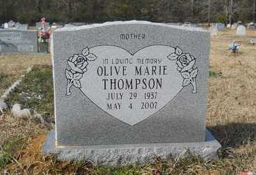 THOMPSON, OLIVE MARIE - Webster County, Louisiana | OLIVE MARIE THOMPSON - Louisiana Gravestone Photos