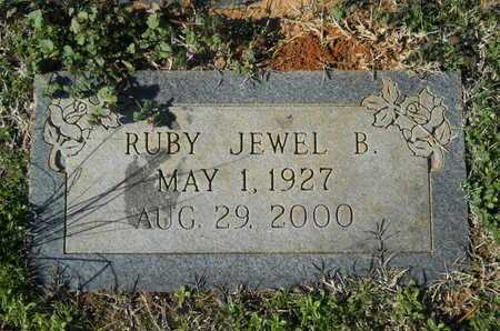 THOMPSON, RUBY JEWEL B - Webster County, Louisiana | RUBY JEWEL B THOMPSON - Louisiana Gravestone Photos