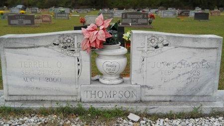 THOMPSON, TERRELL O - Webster County, Louisiana | TERRELL O THOMPSON - Louisiana Gravestone Photos