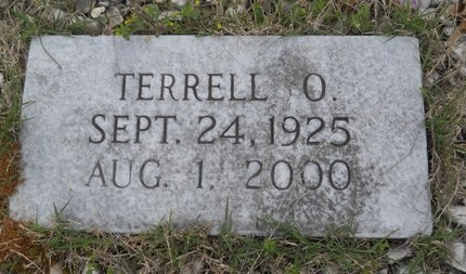 THOMPSON, TERRELL O (CLOSE UP) - Webster County, Louisiana   TERRELL O (CLOSE UP) THOMPSON - Louisiana Gravestone Photos