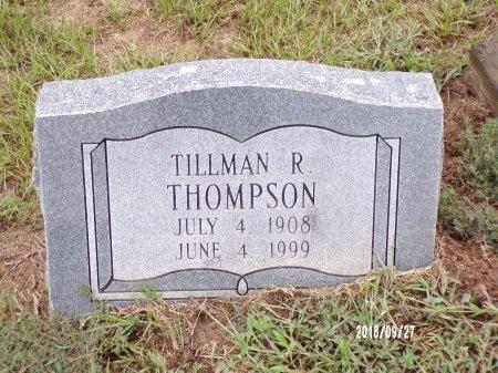 THOMPSON, TILLMAN R - Webster County, Louisiana | TILLMAN R THOMPSON - Louisiana Gravestone Photos