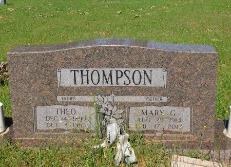 THOMPSON, THEO - Webster County, Louisiana | THEO THOMPSON - Louisiana Gravestone Photos