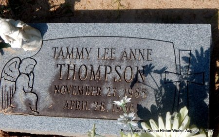 THOMPSON, TAMMY LEE ANNE - Webster County, Louisiana   TAMMY LEE ANNE THOMPSON - Louisiana Gravestone Photos