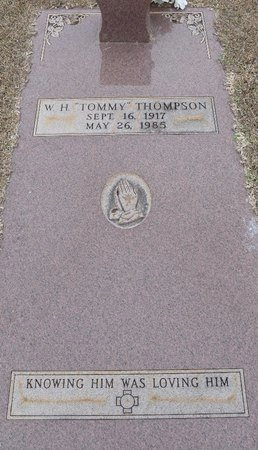 THOMPSON, W H - Webster County, Louisiana | W H THOMPSON - Louisiana Gravestone Photos