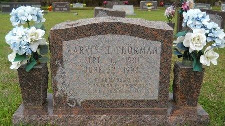 THURMAN, MARVIN H - Webster County, Louisiana | MARVIN H THURMAN - Louisiana Gravestone Photos