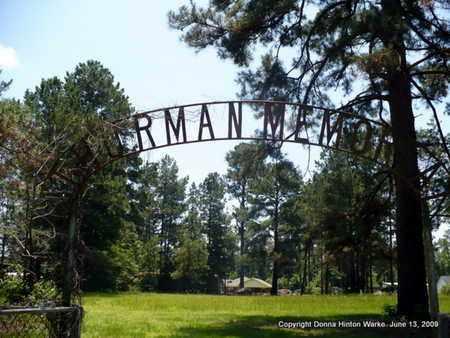 *THURMAN, MEMORIAL GATE - Webster County, Louisiana | MEMORIAL GATE *THURMAN - Louisiana Gravestone Photos