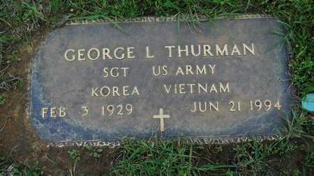 THURMAN, GEORGE L (VETERAN 2 WARS) - Webster County, Louisiana | GEORGE L (VETERAN 2 WARS) THURMAN - Louisiana Gravestone Photos