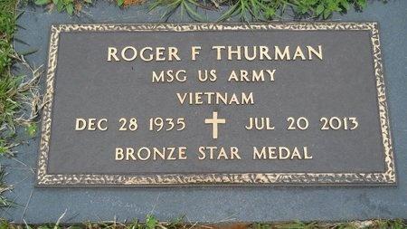 THURMAN, ROGER F (VETERAN VIET) - Webster County, Louisiana | ROGER F (VETERAN VIET) THURMAN - Louisiana Gravestone Photos