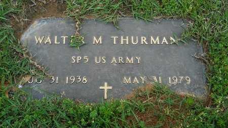 THURMAN, WALTER M (VETERAN) - Webster County, Louisiana | WALTER M (VETERAN) THURMAN - Louisiana Gravestone Photos