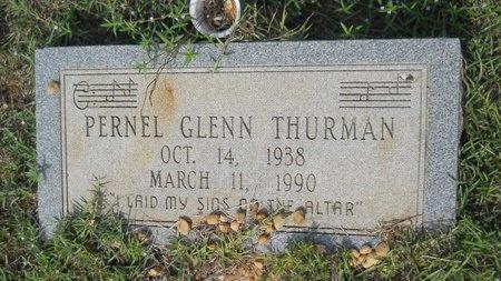THURMAN, PERNEL GLENN - Webster County, Louisiana   PERNEL GLENN THURMAN - Louisiana Gravestone Photos
