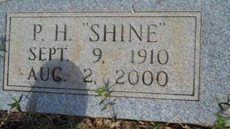"THURMAN, PURNEL HILTON ""SHINE"" (CLOSE UP) - Webster County, Louisiana | PURNEL HILTON ""SHINE"" (CLOSE UP) THURMAN - Louisiana Gravestone Photos"