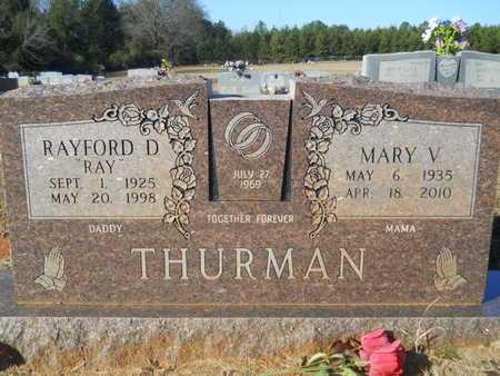 THURMAN, RAYFORD D - Webster County, Louisiana   RAYFORD D THURMAN - Louisiana Gravestone Photos